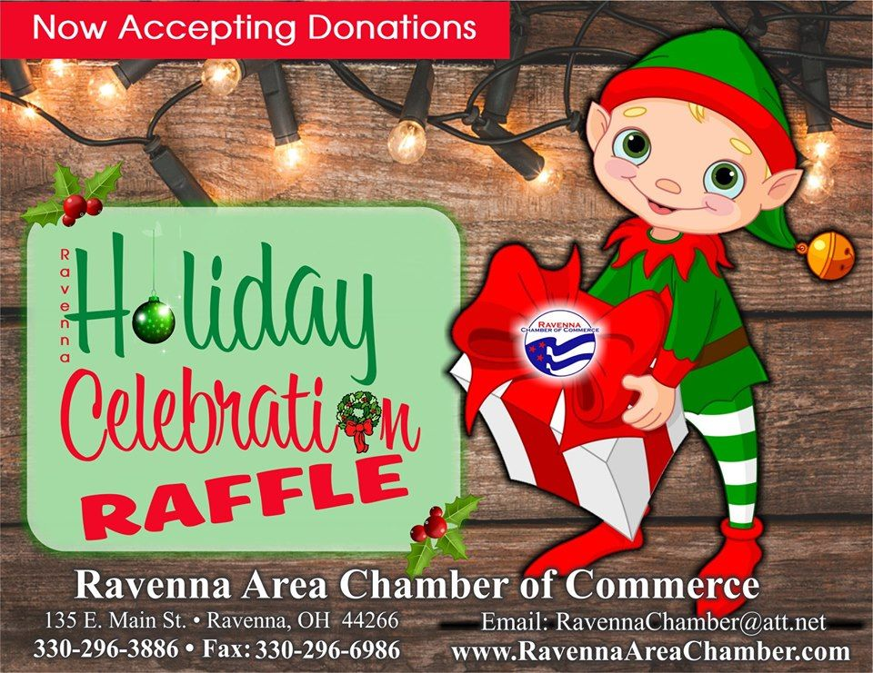 Christmas And Thanksgiving Help In Ravenna 2020 5th Annual HOLIDAY RAFFLE Tickets Sold Here!!!   Ravenna Chamber